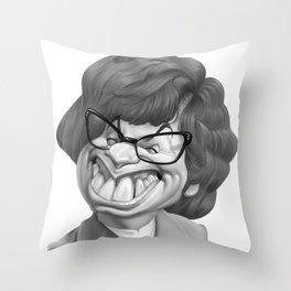 Austin Power, Mike Myers Throw Pillow