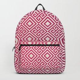 Magenda Geometric Pattern Backpack