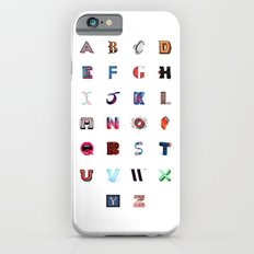 Illustrated Letters - Set One Slim Case iPhone 6s