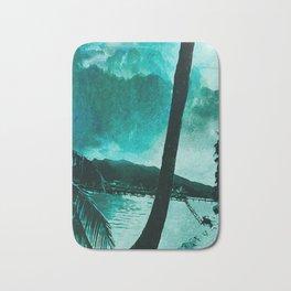 Tempest Island (Colder Version) Bath Mat