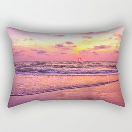 A View For the Soul Sunset Rectangular Pillow