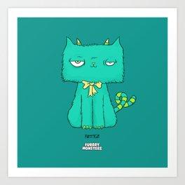 Furrrycat Art Print