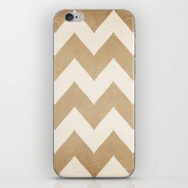 Biscotti & Vanilla - Beige Chevron iPhone Skin