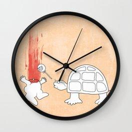 Mr. Turtle's Revenge Wall Clock