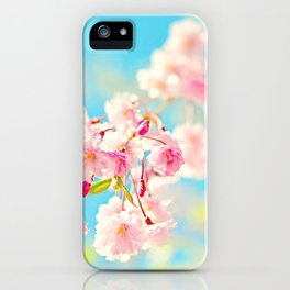 Spring Cherry Blossom iPhone Case