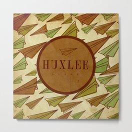 Huxlee Music Merch Metal Print
