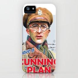 Cunning Plan iPhone Case