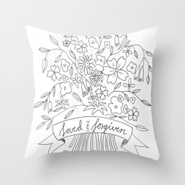 Loved & Forgiven Throw Pillow