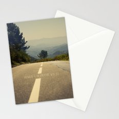 anywhere is an adventure with you Stationery Cards