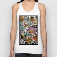 spirited away Tank Tops featuring Spirited Away by alxbngala