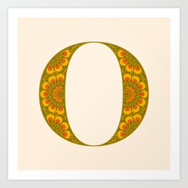 O - Amarilis Art Print
