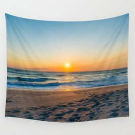 Canaveral National Seashore Sunrise Wall Tapestry