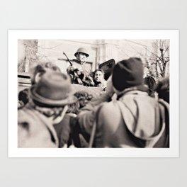 "The ""Terrorist"" December 1989 Sibiu Art Print"