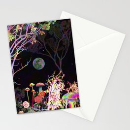 Colorful Night Stationery Cards