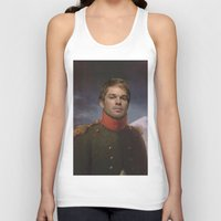 dexter Tank Tops featuring DEXTER by Anthony Morell