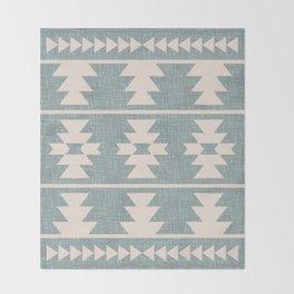 Southwestern Pattern 127 Throw Blanket