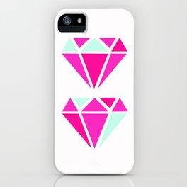 Color Block Diamonds iPhone Case
