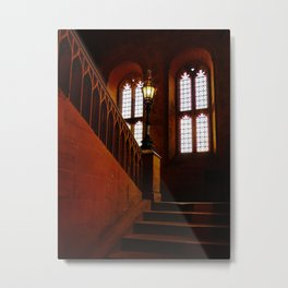 Staircase Oxford University - Fine Art Photography Metal Print