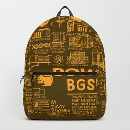 Bowling Green State University Map Backpack