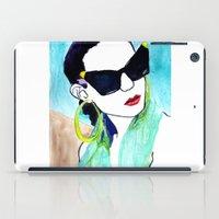 sunglasses iPad Cases featuring Sunglasses by Karen