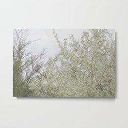 Spring Monarchs Metal Print
