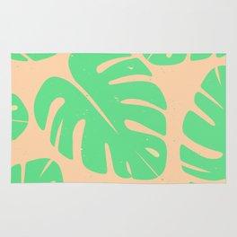 Monstera Leaf Print 3 Rug