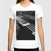 bass T-shirts featuring Bass  by Lia Bedell