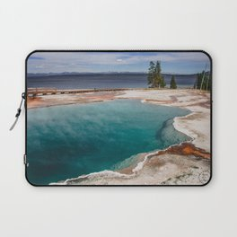 Black Pool, West Thumb Geyser Basin, Yellowstone National Park Laptop Sleeve