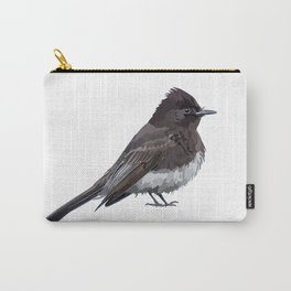 Black Phoebe Songbird Flycatcher Bird Carry-All Pouch