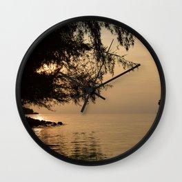 Tranquil Lagoon Wall Clock