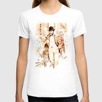vienna T-shirts featuring The Fiaker in Vienna by Vargamari
