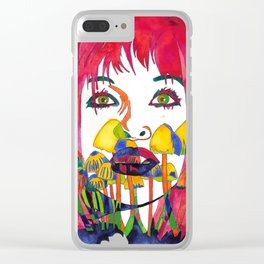 In Dreams I Talk to You Clear iPhone Case