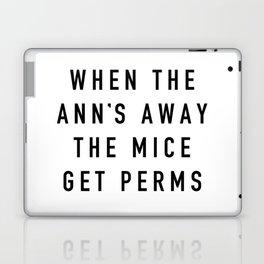 When the Ann's Away Laptop & iPad Skin