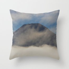 Early Morning Mist - II Throw Pillow