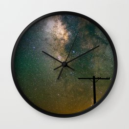Transmission Complete Wall Clock