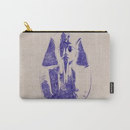 Pharoah Death Mask Carry-All Pouch