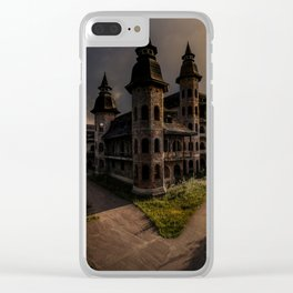 Unfinished Dreams Clear iPhone Case