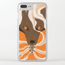 Teeth & Smoke Clear iPhone Case