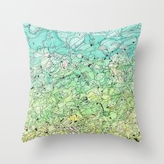 Between The Earth and Sky Throw Pillow