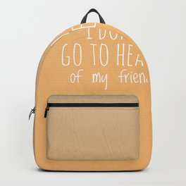 Going to heaven Backpack