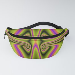 Kittycat Abstract Fanny Pack