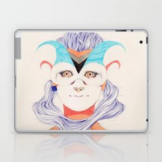 Hair Play 03 Laptop & iPad Skin