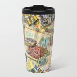 Vintage World Traveler Travel Mug