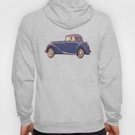 Vintage Car Oil Painting Hoody