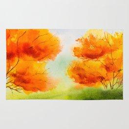 Autumn scenery #14 Rug