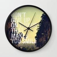 quotes Wall Clocks featuring QUOTES by magdam