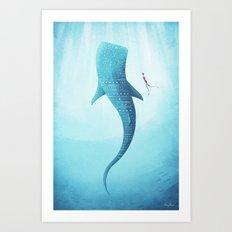 The Whale Shark Art Print