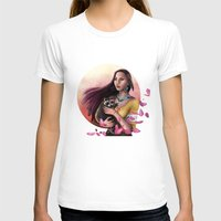 pocahontas T-shirts featuring Pocahontas by SEA Digital Art