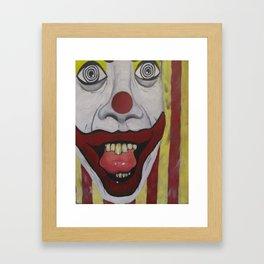 Me Clown  2006 Framed Art Print
