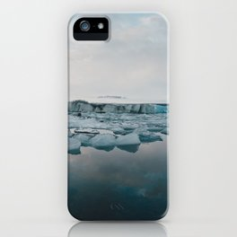 Jokulsarlon iPhone Case